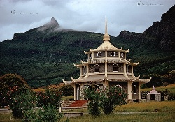 CHINESISCHER TEMPEL, PAGODE, PORT LOUIS, INSEL MAURITIUS